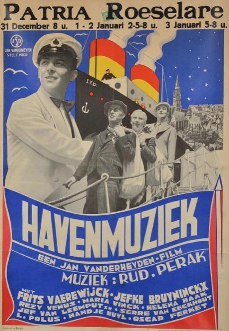 Poster Havenmuziek