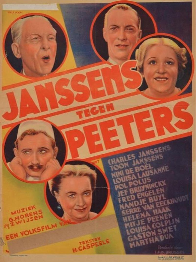Poster Janssens tegen Peeters