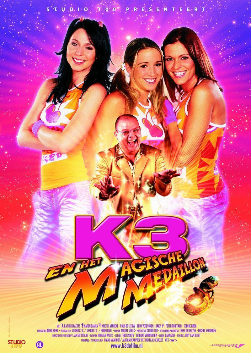 Poster K3 en het magische medaillon