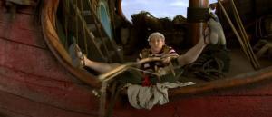 Dirk Van Vooren in Piet Piraat en de betoverde kroon (2005)