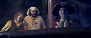 Anke Helsen, Dirk Bosschaert, Peter Van De Velde in Piet Piraat en het Vliegende Schip (2006)