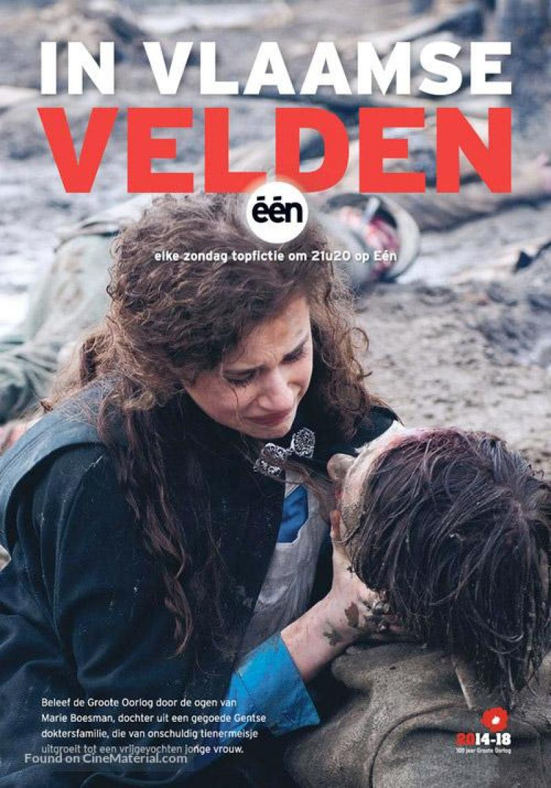 Poster In Vlaamse velden
