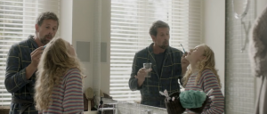 Johan Heldenbergh, Savannah Vandendriessche in Mijn vader is een saucisse (2021)