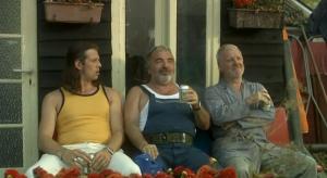 Johan Heldenbergh, Michel Van Dousselaere, Vic De Wachter in Vleugels (2006)