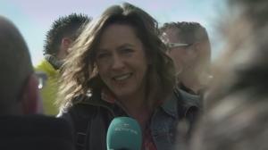 Tania Van der Sanden in De Ronde
