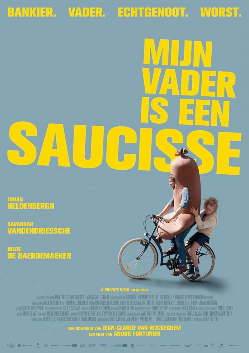 Poster Mijn vader is een saucisse