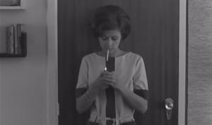 Petra Laseur in Het afscheid (1966)