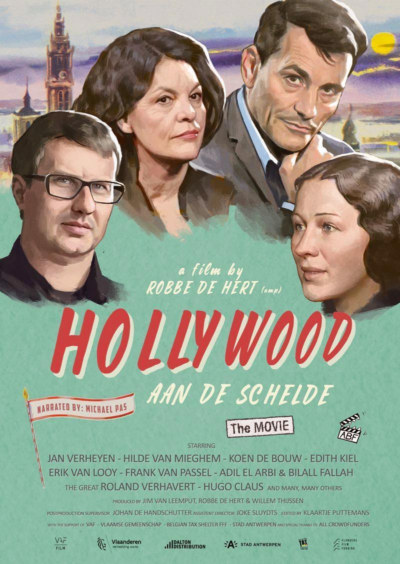 Poster Hollywood aan de Schelde