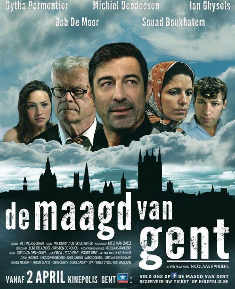 Poster De maagd van Gent