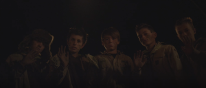 Emile Hofmans, Natan Verhoeven, Julien Du Bosch, Michel Cardon, Dries De Wreede in Totem (2016)