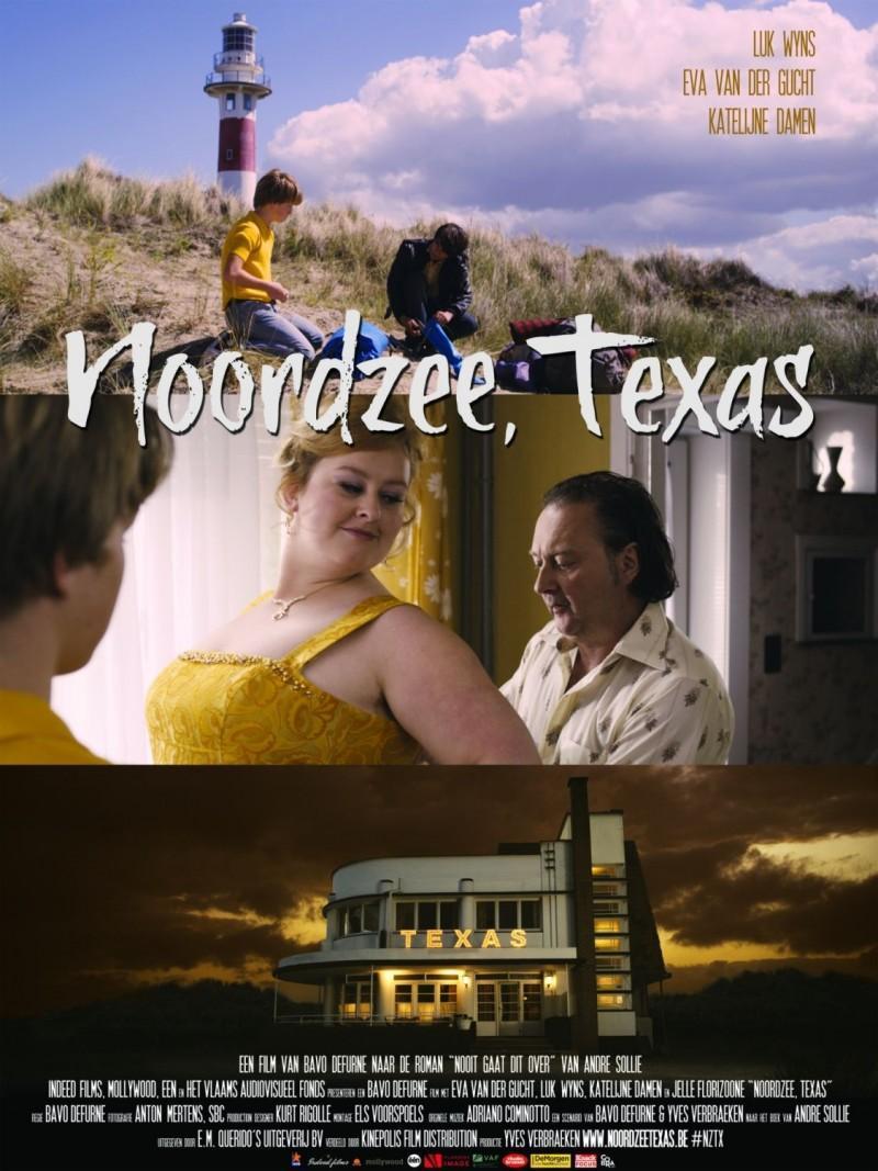 Poster Noordzee, Texas