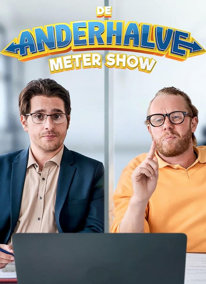 Poster De Anderhalve Meter Show