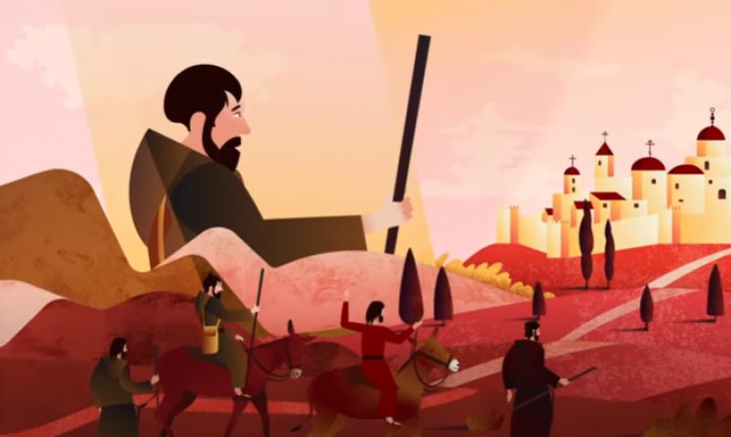 Vlaamse en Nederlandse jezuïeten maken animatiefilm over stichter Ignatius van Loyola