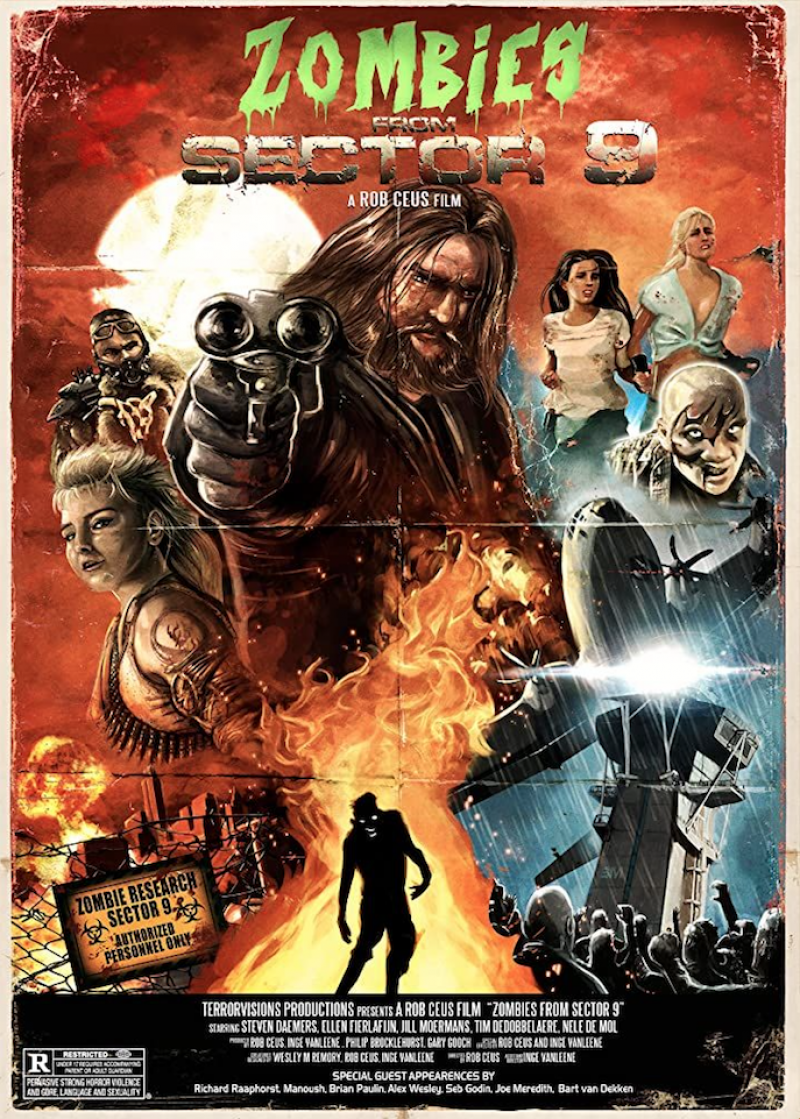 Poster Zombies From Sector 9