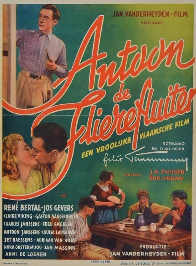 Poster Antoon, de flierefluiter