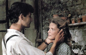 Roger Van Hool, Marie-Christine Barrault in Een vrouw tussen hond en wolf (1979)