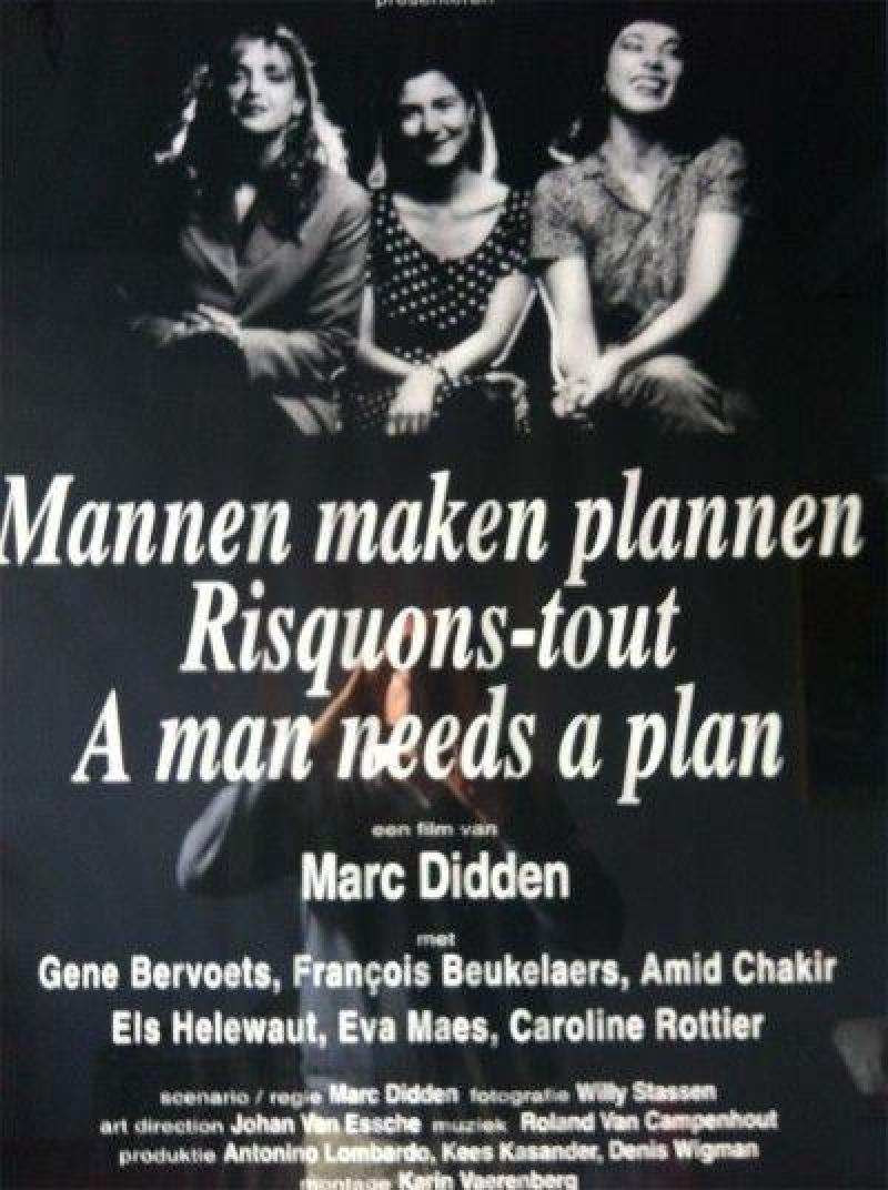 Poster Mannen maken plannen