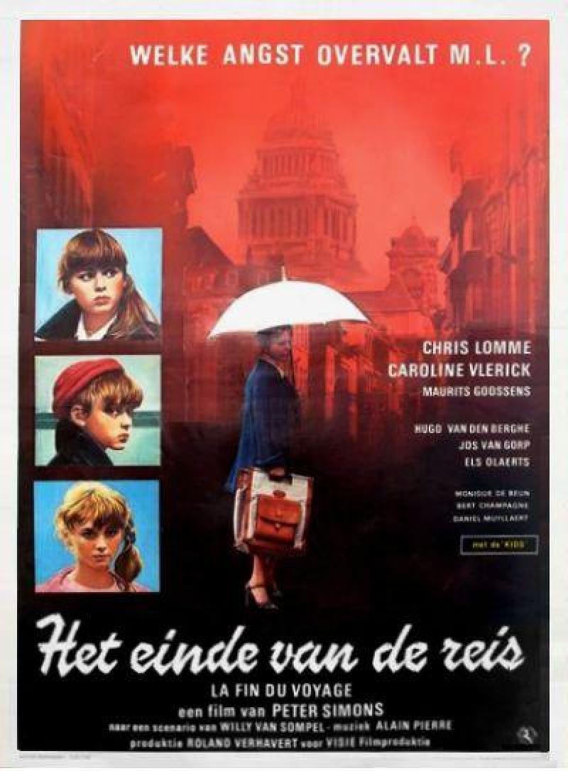Poster Het einde van de reis