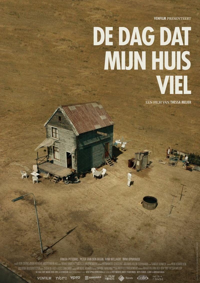 Poster De dag dat mijn huis viel
