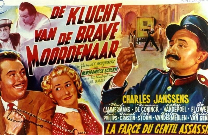 Poster De klucht van de brave moordenaar