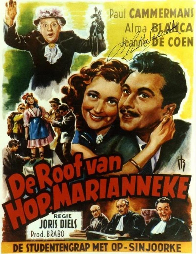 Poster De roof van Hop-Marianneke