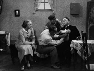 Jet Naessens, Robert Maes, Jan Cammans, Eduard Pevernagie in De wonderdoktoor (1936)