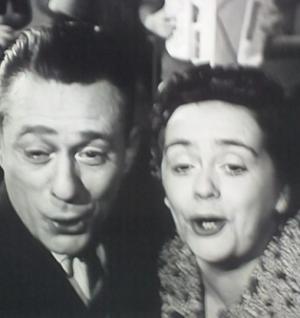 René Bertal, Magda Lausanne in Rendez-vous in het paradijs (1957)