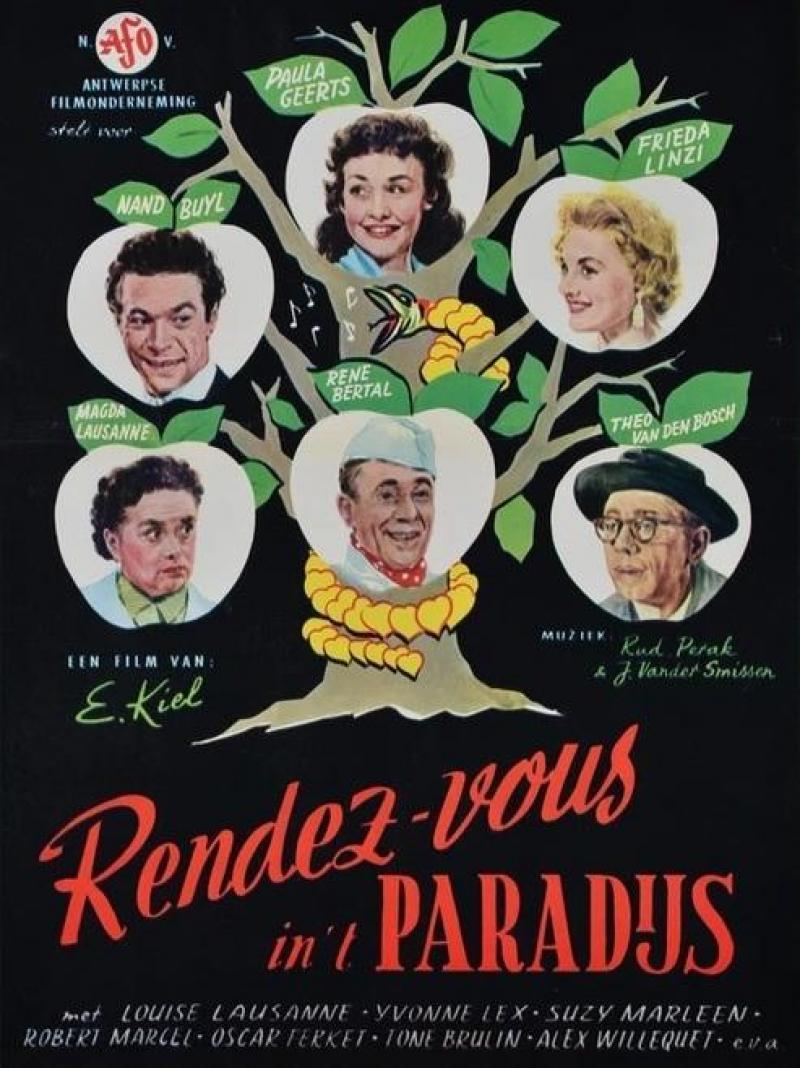Poster Rendez-vous in het paradijs
