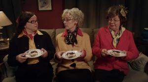 Ingrid De Vos, Gilda De Bal, Brit Alen in Het goddelijke monster