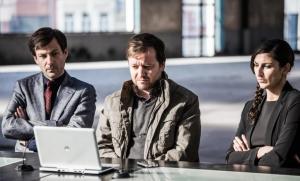 Greg Timmermans, Mathias Sercu, Sachli Gholamalizad in De Bunker