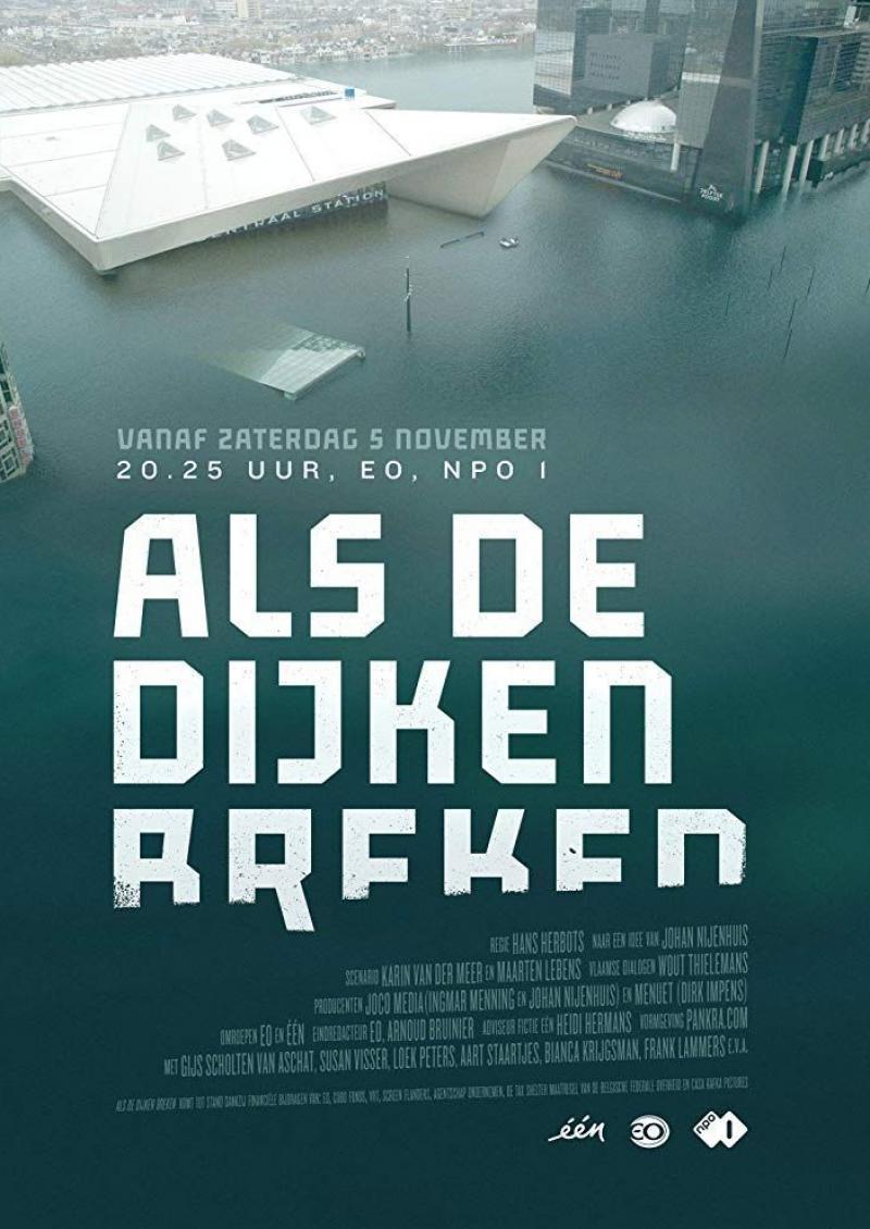 Poster Als de dijken breken