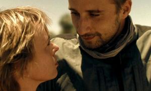 Lotte Pinoy, Matthias Schoenaerts in Los zand