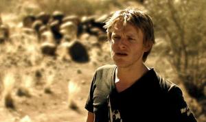 Steve Aernouts in Los zand