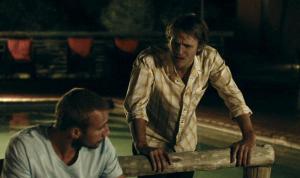 Matthias Schoenaerts, Steve Aernouts in Los zand